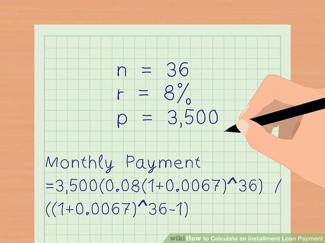 Calculate loan installment